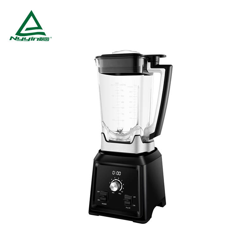 High speed Blender with 2.0L Tritan jar, LED display, 10 Dial speed control with pulse toggle 2000W NY-8088MJC