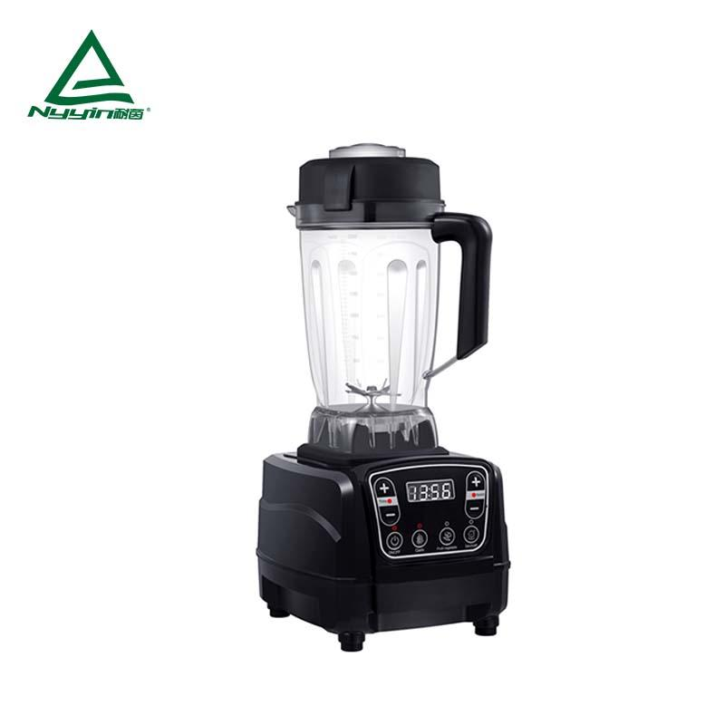 Commercial Blender with 2.0L Tritan Jar, Safety Switch,Touch control operation. CE,CB, ETL, RoHS, REACH 2000W NY-8618EXA