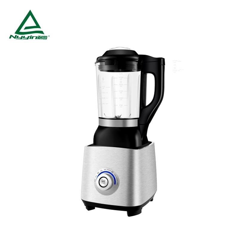 Motor power, 800W heater power Soup Maker with 1.75L High borosilicate glass jar, Rotary one knob operation ,Aluminum die cast housing 1400W  NY-8658MXK