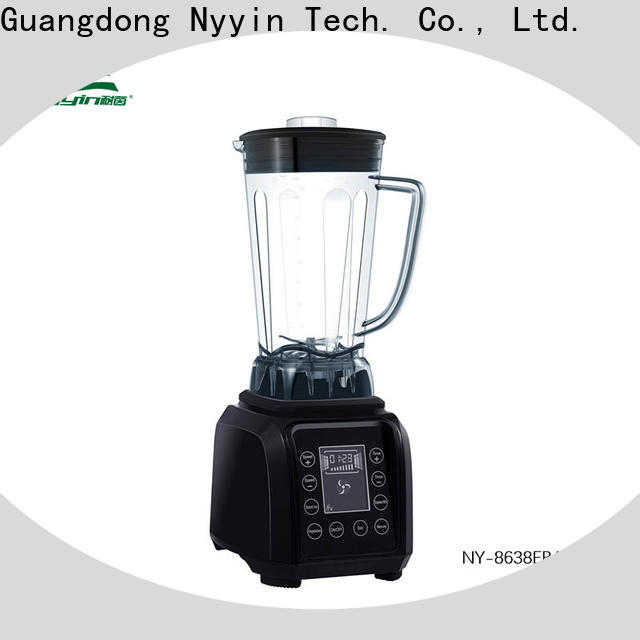 Nyyin display professional smoothie blender manufacturers for beverage shop