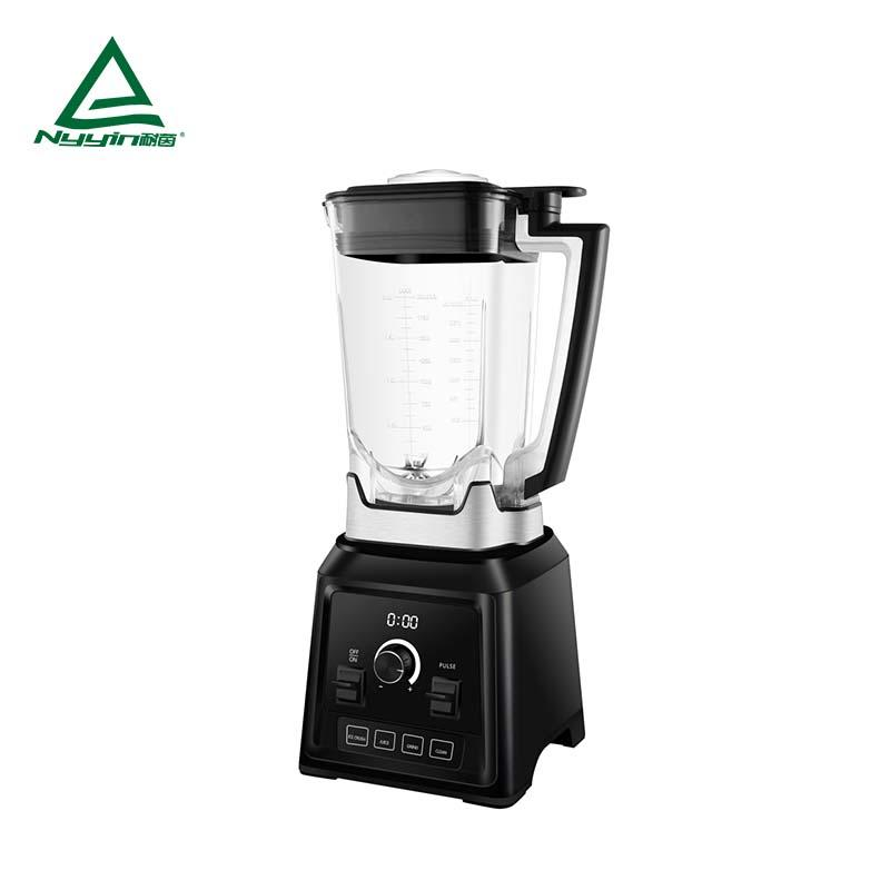 Commercial Blender machine with 2.0L Tritan jar, LED display, Variable speed control, Pulse toggle, 4 pre-programmed presets 2000W NY-8088MJD