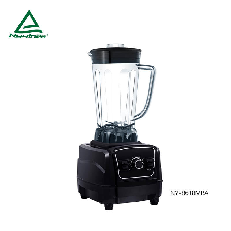 Juicer Blender with 2.0L Tritan Jar, Safety Switch,Dial Speed Knob, Pulse toggle. CE,CB,ETL,CETL,RoHS,REACH,BSCI 2000W  NY-8628MXA