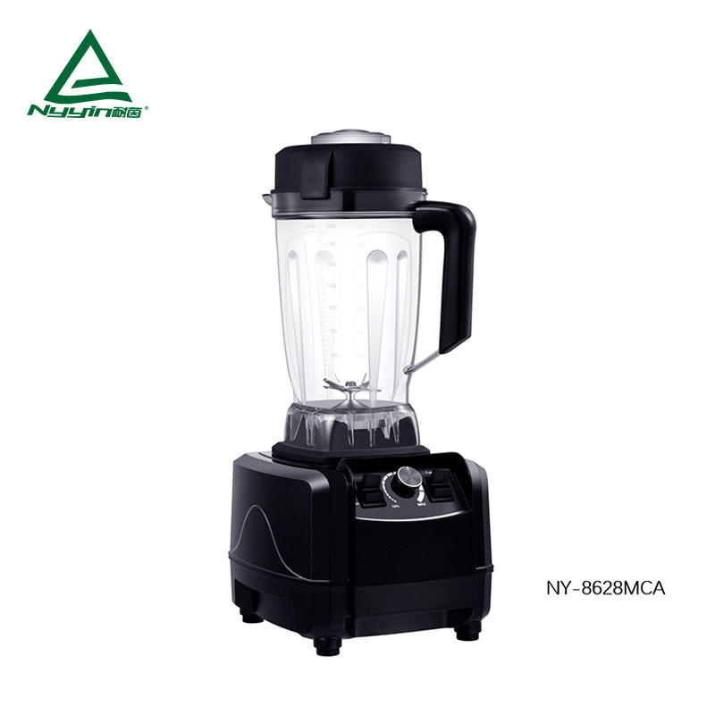 Heavy duty food Blender with 2.0L Tritan Jar, Safety Switch,Dial Speed Knob, Pulse toggle 2000W  NY-8628MXA