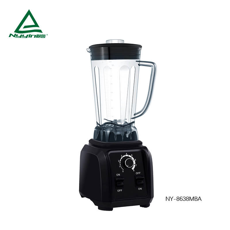 Power  food Blender with 2.0L Tritan Jar, Safety Switch,Dial Speed Knob, Pulse toggle. CE,CB,ETL,CETL,RoHS,REACH,BSCI 2000W  NY-8638MXA