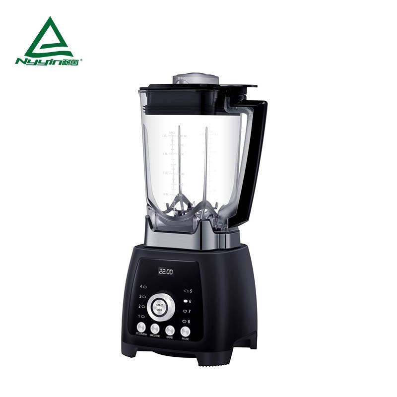 Commercial multi  Blender with 2.0L Tritan jar, One rotary knob control START/STOP with LED display, 3 pre-programmed presets and Pulse function key 2000W  NY-8668MJC