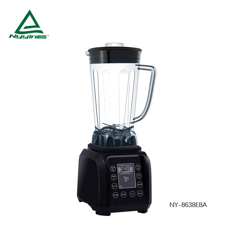 Commercial Blender with 2.0L Tritan Jar, Safety Switch,Touch control panel with big display 2000W  NY-8638EXA