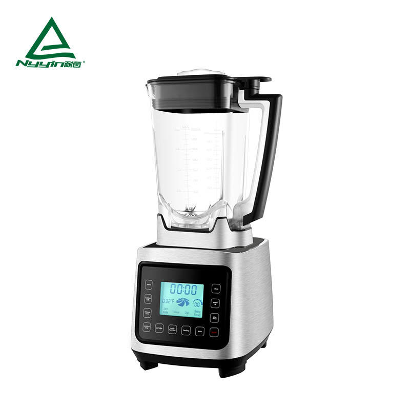 Commercial Blender with 2.0L Tritan glass jar, LCD display, Touch control, 6 pre-programmed presets, Aluminum die cast housing 2000W  NY-8658EJA