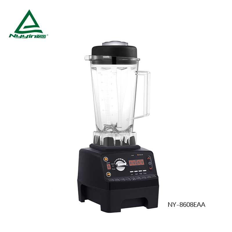 Ice Blender with 2.0L Unbreakable Tritan jar, LED display, Variable Speed with 9 Pre-Programmed Presets 1500W NY-8608EXA