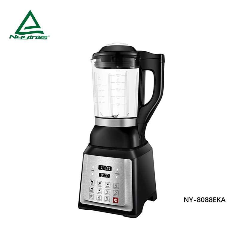 Motor power, 800W heater power soup maker with 1.75L high borosilicate jar, Touch mode to control 8 pre-programmed presets, Pulse function key, clear LED display 1400W  NY-8088EXA