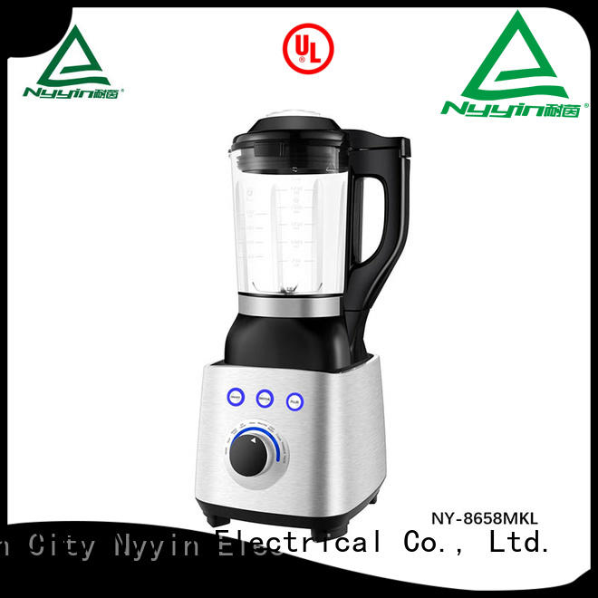 Nyyin self-cleaning glass jug blender high speed for bar