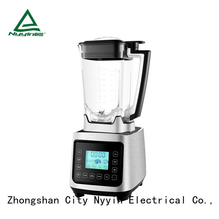 Nyyin Top professional blender with glass jar wholesale for bar