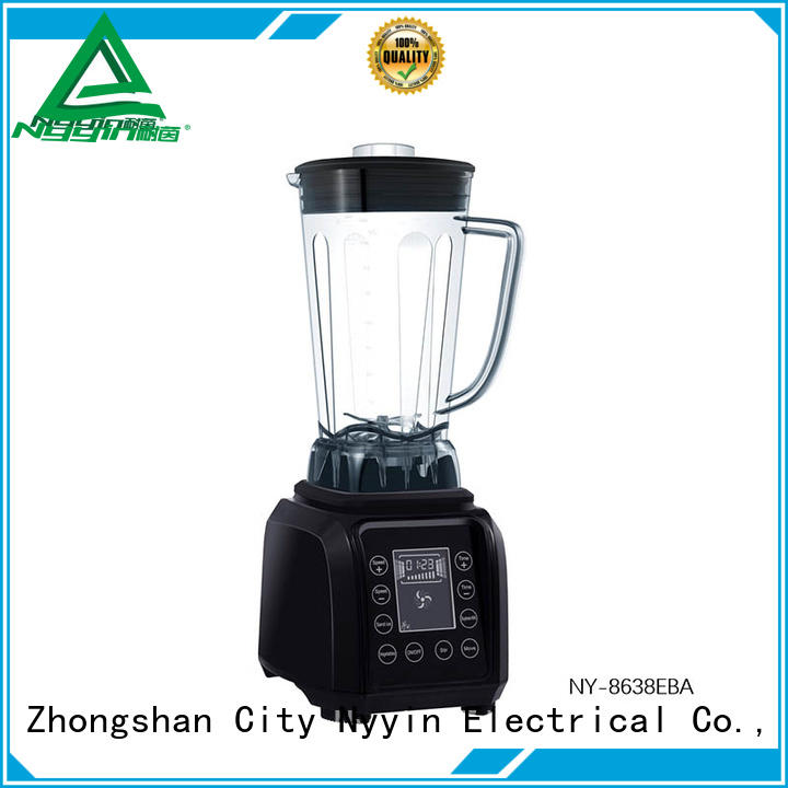 Nyyin touch control heavy duty blender for sale glass for restaurant