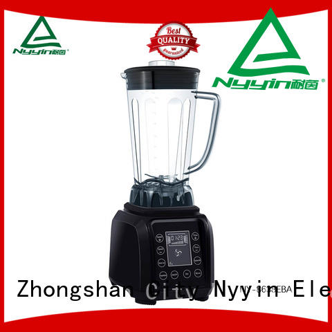 Nyyin touch control heavy duty smoothie blender for business for canteen