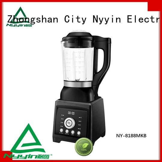 Nyyin self-cleaning glass blender for sale for canteen