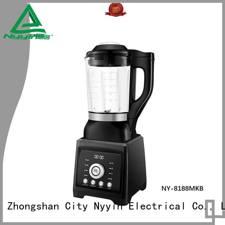 practical glass jug blender preprogrammed easy operation for hotel