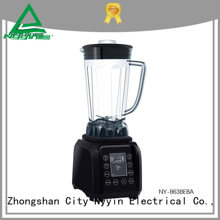 Nyyin touch control glass blender high quality for beverage shop