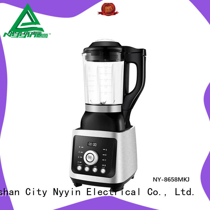 Nyyin button glass blender company for canteen